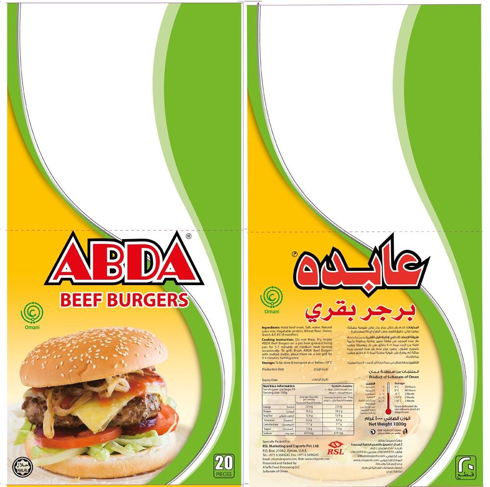Abda Beef Burger